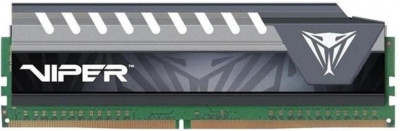 Оперативна пам'ять Patriot DDR4-2400 8192MB PC4-19200 Viper Elite Series Gray (PVE48G240C6GY)