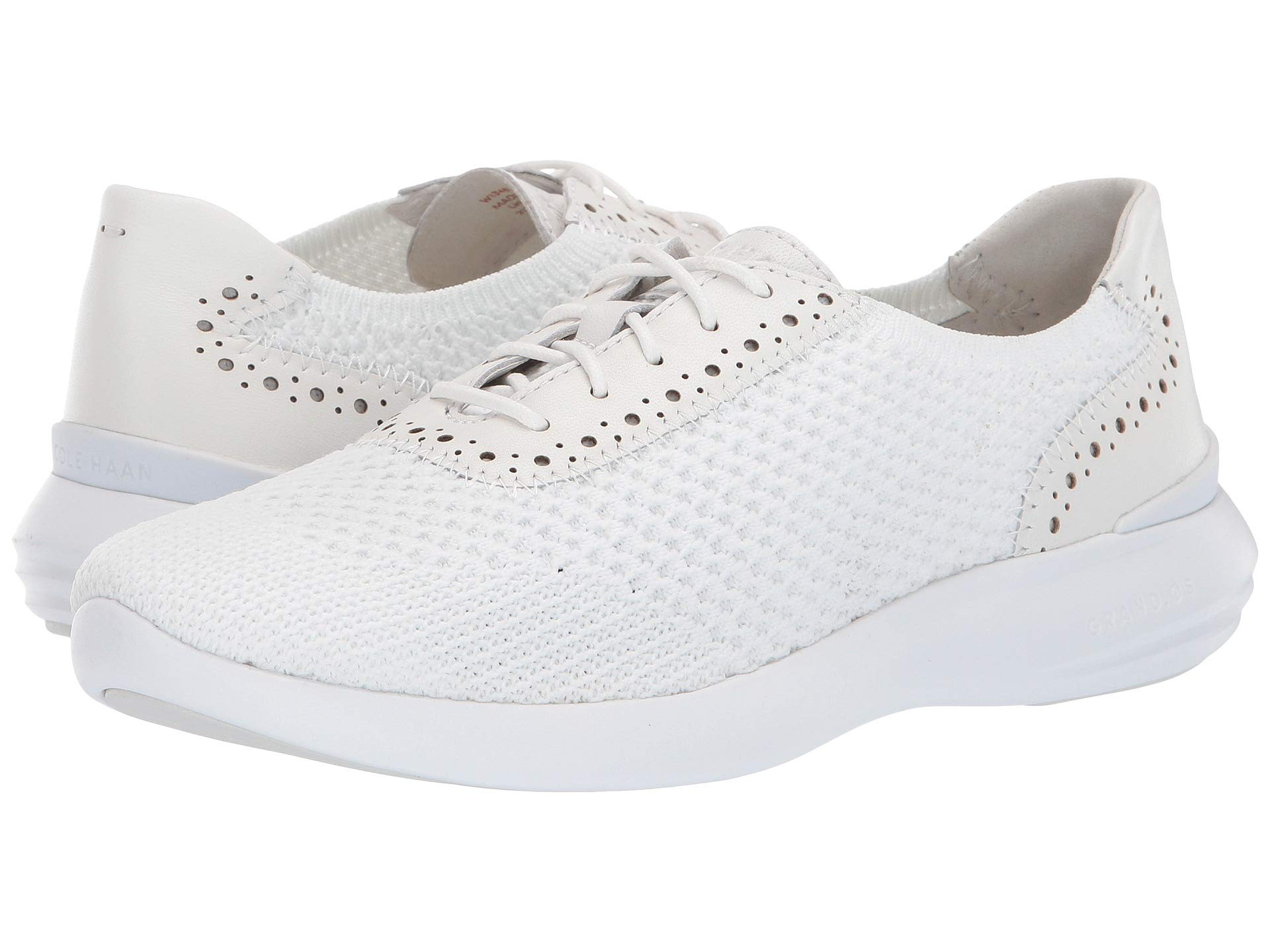 Кроссовки Cole Haan 2.0 Ella Grand Knit Oxford White, 36 (230 мм)