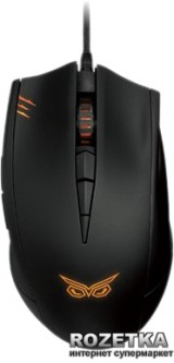 Мышь Asus Strix Claw Dark USB Black (90YH00C2-BAUA00)