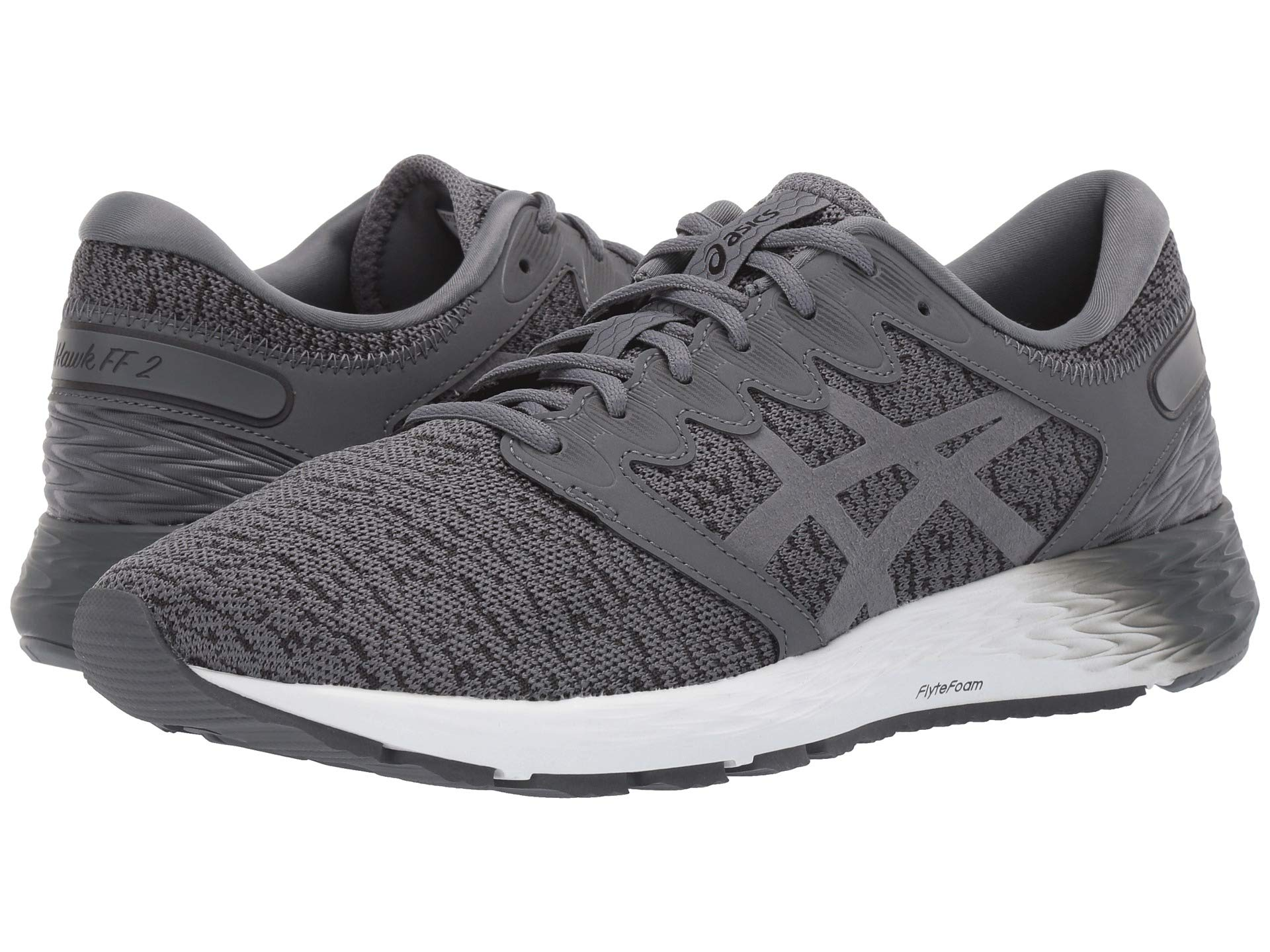 Кроссовки ASICS Roadhawk FF 2 MX Gray, 41.5 (260 мм) (10160471)
