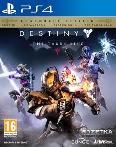 Destiny: The Taken King. Legendary Edition (PS4, английская версия)