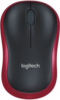 Мышь Logitech M185 Wireless Red (910-002237/910-002240)