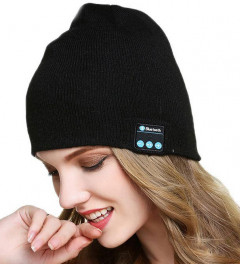 Шапка с Bluetooth гарнитурой Music Hat 3.0 Black (752962999)