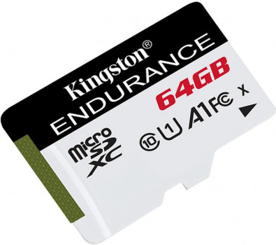 Kingston microSDXC 64GB High Endurance Class 10 UHS-I U1 A1 (SDCE/64GB)