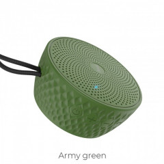 Bluetooth Колонка Hoco BS21 Atom Bluetooth 4.2 Army Green (vn2917)