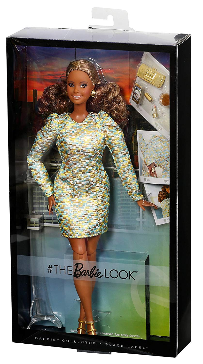"Playsets Barbie The Look Metallic Mini Doll Toys /"" Games"