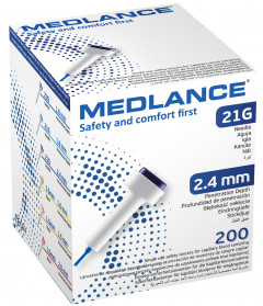 Ланцет MEDLANCE 200 Dark Blue (5907996094806)