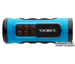 Texet Drum Blue + карта памяти 4 ГБ в комплекте!
