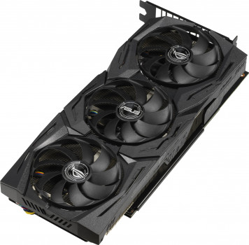 Asus PCI-Ex GeForce GTX 1660 Ti ROG Strix Gaming OC 6GB GDDR6 (192bit) (1860/12000) (2 x DisplayPort, 2 x HDMI) (GTX1660TI-O6G-GAMING)