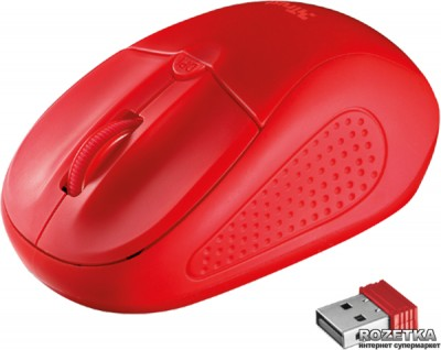 Миша Trust Primo Wireless Red (TR20787)