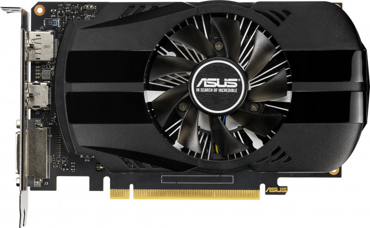 Asus PCI-Ex GeForce GTX 1650 Phoenix O4G OC 4GB GDDR5 (128bit) (1680/8002) (DVI, HDMI, DisplayPort) (PH-GTX1650-O4G)