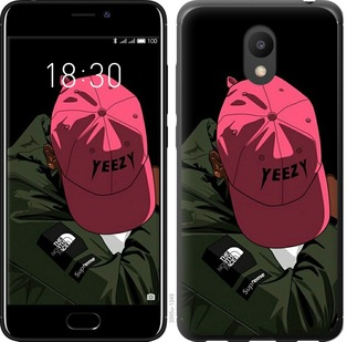 Чехол EndorPhone на Meizu M6 logo de yeezy (3995u-1349)