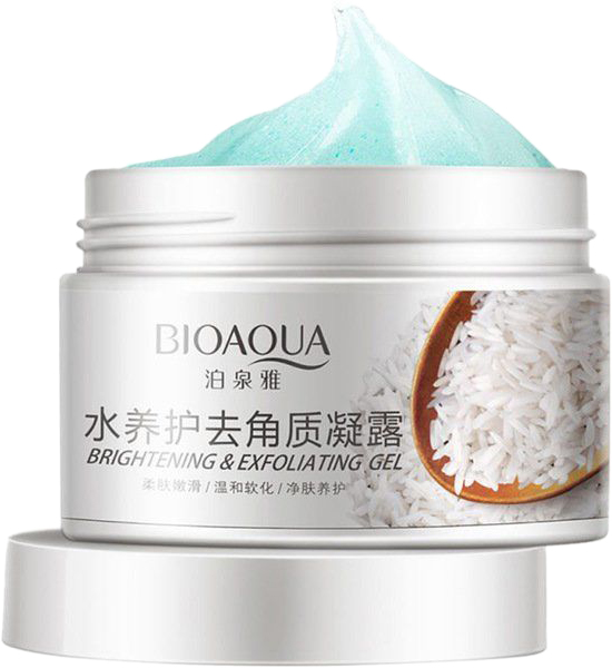 Гель-пилинг для лица Bioaqua Rice Exfoliation BQY7519 140 г (6947790797519) - изображение 1