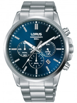 Години Lorus RT385GX9 Chrono Herren 43mm 5ATM