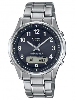 Годинник Casio LCW-M100TSE-1A2ER Wave Ceptor 40mm 10ATM