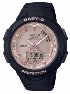 Часы Casio BSA-B100MF-1AER Baby-G Smartwatch 40mm 10ATM