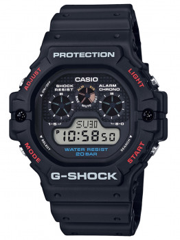 Годинник Casio DW-5900-1ER G-Shock 46mm 20ATM