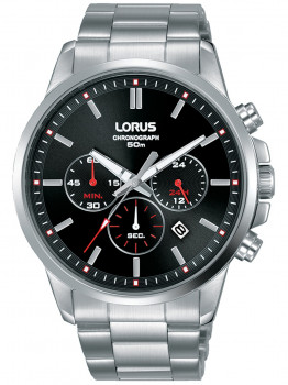 Години Lorus RT383GX9 Chrono Herren 43mm 5ATM