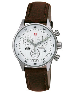 Часы Swiss Military SM34005.04 Damen-Chrono 36mm 5ATM