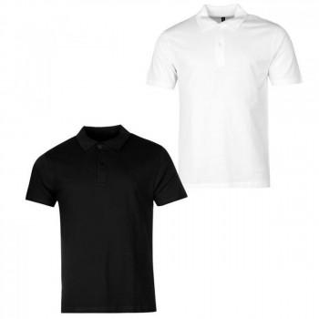Поло Donnay Two Pack White/Black, M (10075144)
