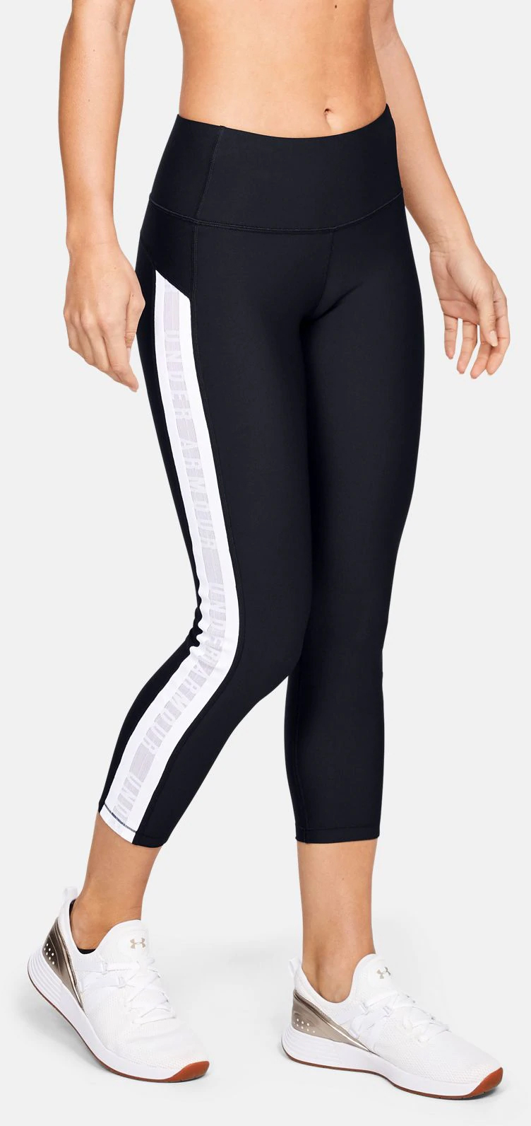 Капри Under Armour Ua Hg Armour Ankle Crop Branded 1329151-002 XS (192564167548)