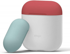 Чехол Elago Duo Case для AirPods Blue/Italian Rose/Coral Blue (EAPDO-LUBL-IROCBL)
