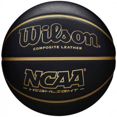 Мяч баскетбольный Wilson NCAA Hightlight 295 Size 7 Black (WTB067519XB07)