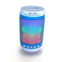 Портативная Bluetooth/MP3/FM/USB колонка Wster WS-1806B (7092to)