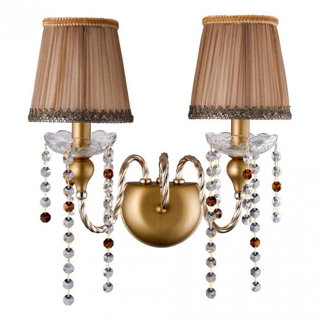 Бра Crystal Lux Alegria AP2 Gold-Brown Alegria (crystal-lux-alegria-ap2-gold-brown) - зображення 1