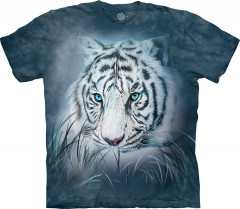 Футболка The Mountain Thoughtful White Tiger junior XL Синий (105964)
