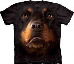 Футболка The Mountain Rottweiler Face M Черный (103263)