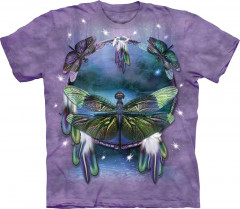 Футболка The Mountain Dragonfly Dreamcatcher junior S Сиреневый (103397)