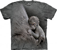 Футболка The Mountain Kibibi Baby Lowland Gorilla XXL Серый (437059)