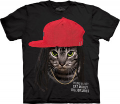Футболка The Mountain Cat Money Billionaires 5XL Черный (105966)