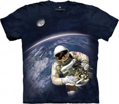 Футболка The Mountain First American Space Walk XXXL Синий (437069)