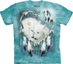 Футболка The Mountain Wolf Heart XL Синий (103817)