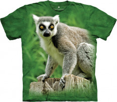 Футболка The Mountain Ring Tailed Lemur XXXL Зеленый (437045)