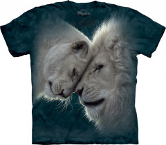 Футболка The Mountain White Lions Love 4XL Зеленый (105937)