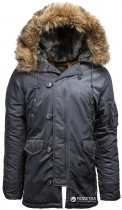 Куртка Alpha Industries Slim Fit N-3B Parka M Steel Blue