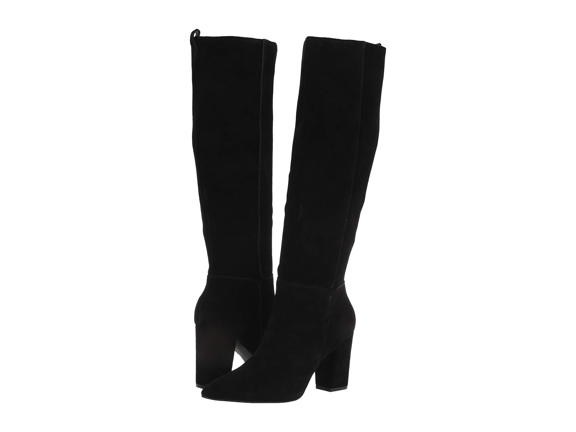 Сапоги Steve Madden Raddle To the Knee Boot Black, 39 (246 мм)
