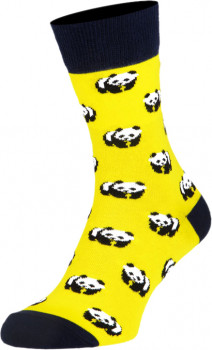 Шкарпетки The Pair of Socks Panda Yellow Жовті (41-46)