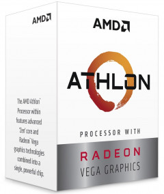AMD AM4 Ryzen Athlon 220GE 3400MHz (YD220GC6FBBOX)
