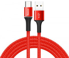 Кабель Baseus Halo Data Cable USB for Type-C 2A 2 м Red (CATGH-C09)