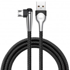 Кабель Baseus MVP Mobile Game Cable USB for Micro 1.5A 2.0 м Black (CAMMVP-F01)