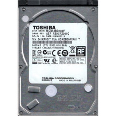 "Жесткий диск Toshiba AV 1TB 5400rpm 8MB SATA II 2.5"" Factory Recertified"