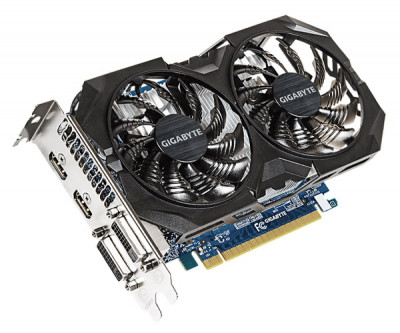 Відеокарта Gigabyte GeForce GTX 750Ti (GV-N75TOC2-2GI) 2GB Refurbished