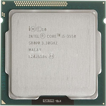Процессор Intel Core i5-3550 3.3GHz/5GT/s/6MB (BX80637I53470) s1155 up to 3.7Ghz