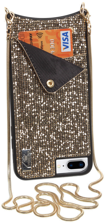 Чехол BeCover Glitter Wallet Gold for iPhone 8 Plus/iPhone 7 Plus/6s Plus  золотой