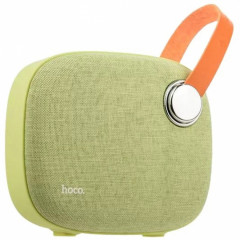 Колонка Bluetooth Hoco BS8 Plain Textile Green