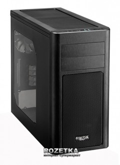 Корпус Fractal Design Arc Mini R2 Window (FD-CA-ARC-Mini-R2-BL-W)